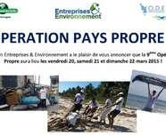 Association Entreprises & Environnement - Résultat édition 2015