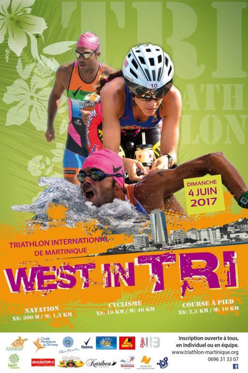 WEST IN TRI de Juin 2017 - Programme