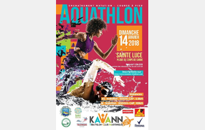 AQUATHLON DES TORTUES KAWANN 2018