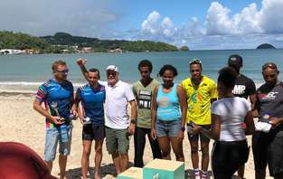championnat de Martinique de Triathlon 2018
